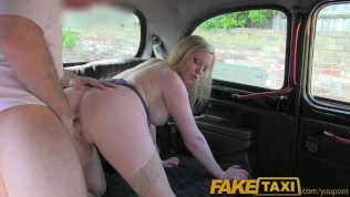 FakeTaxi Dirty british cougar is happy to fuck the London
