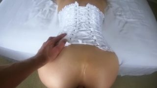 First time anal 10,000 subs celebration sextape from amateur ThePerfectCpl!