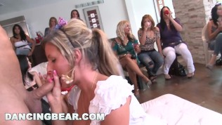 DANCING BEAR – Insane Bachelorette Party Ends Up With CFNM