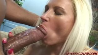 Huge boob Mom takes big blacky cock